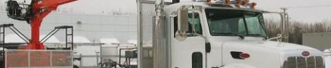 Camion grue à chargement (mat) - Formalourd