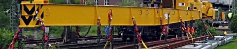 Formation sur grue sur rails usg